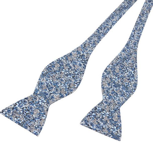 Bow Ties Made From Liberty Fabrics