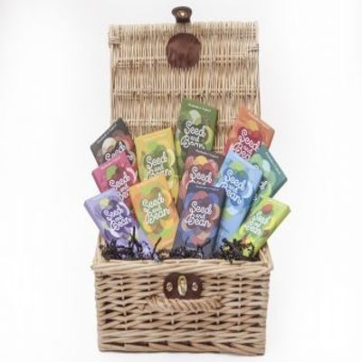 The Dark Collection Hamper, delicious delights await within our gift selection - £45.00