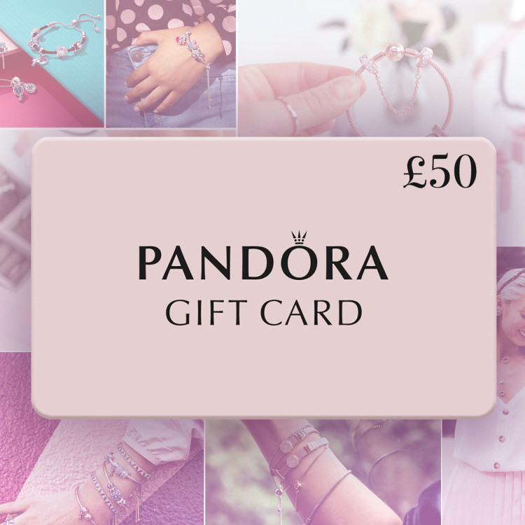 Enter for a chance to win a £50.00 Pandora Gift Card!