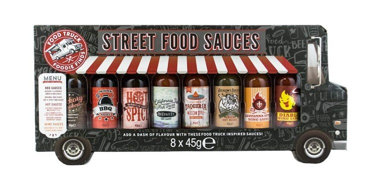 WIN – Street Food Sauces Gift Set