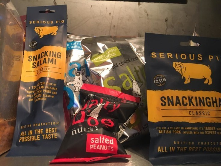 New Snacks at BrewDog... Crisps, Salami,Pork Scratchings, Nuts...........