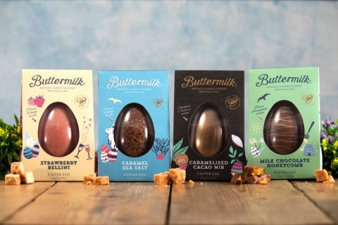Buttermilk Free From Honeycomb Easter Egg 185g!