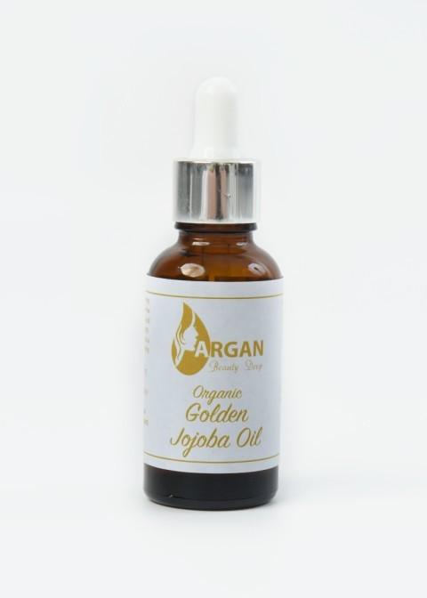 Jojoba Oil 30ml - Pure & Natural, Unrefined, Vegan, Hexane Free, No GMO.