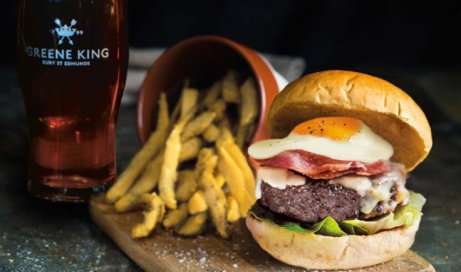 Wednesday is Gourmet Burger Day - Get a Burger & a Drink for ONLY £10!
