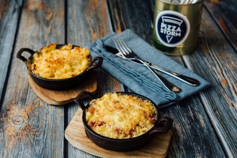 To side or not to side? Try our Mac N Cheese or Mac N Cheese WITH BACON