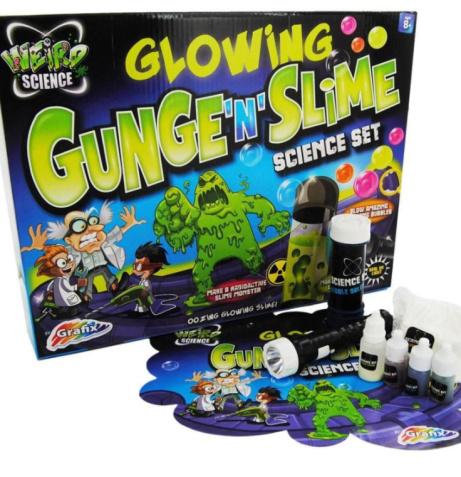SAVE 36% on this Weird Science Glowing Gunge N Slime Science Set!