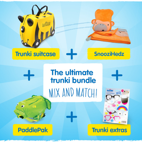 The Ultimate Trunki Summer Mix & Match Bundle for only £49.99!