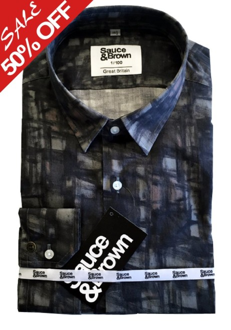Sketchy Check Shirt is now 50% off