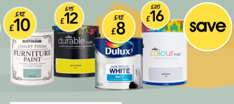 SAVE up to 20% on Paint!
