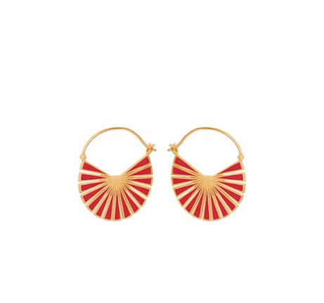 Shop the Flare Red Earrings - £86.00!