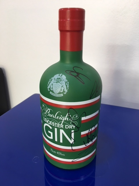 WIN a signed bottle of Leicester Tigers Edition gin!