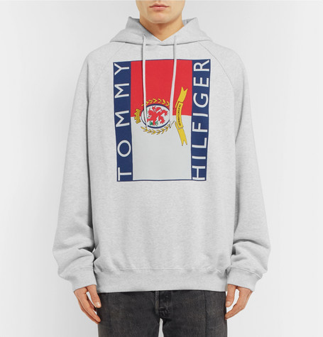 SAVE 50% OFF VETEMENTS + Tommy Hilfiger Oversized Cotton-Jersey Hoodie!