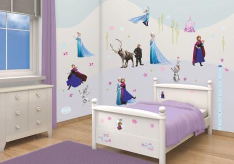 DISNEY FROZEN Self Adhesive Room Decor Kit - ONLY £20!