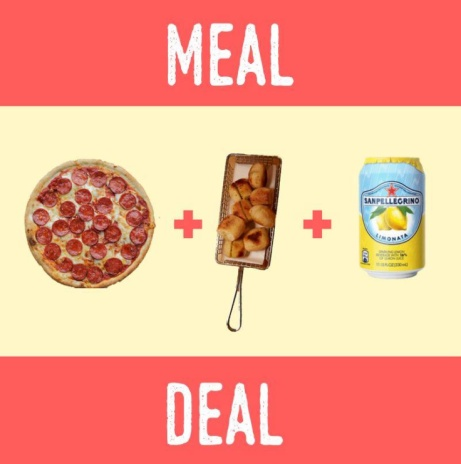 Craving Pizza but on a budget? Grab our meal deal for less than £10.00!