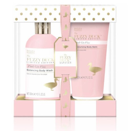 Mothers Day - Baylis & Harding The Fuzzy Duck Limited Edition Pink Gin Fizz 2 Piece Set £5.00!