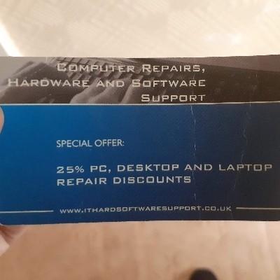 Get 25% OFF 1st computer repair!