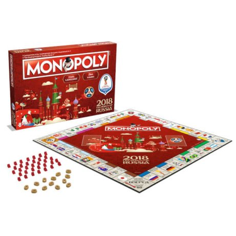 SAVE 1/3 on MONOPOLY - WORLD CUP 2018 EDITION!
