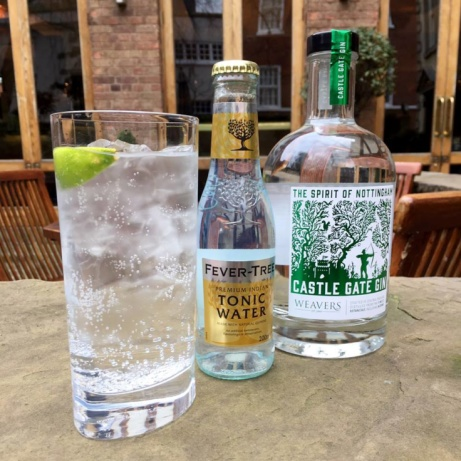 Great to see our Castle Gate gin being enjoyed around the city