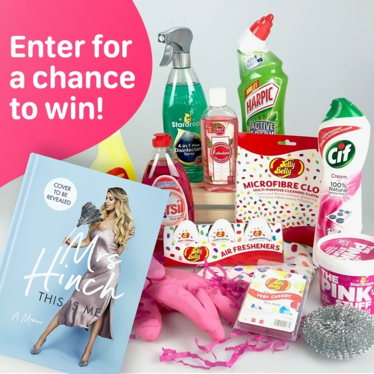 WIN a Mrs Hinch Ultimate Cleaning Bundle + Her new Book 'This Is Me' Hardcover!