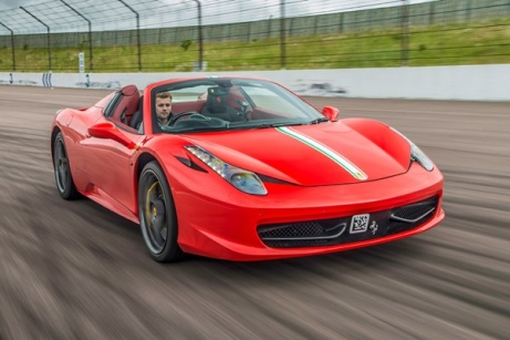 45% OFF - Supercar Thrill with Free High Speed Passenger Ride!