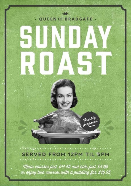 Enjoy a delicious and homemade SUNDAY ROAST!