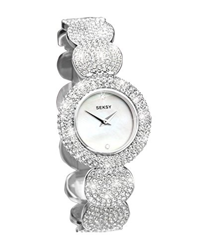 SAVE 40% - Seksy Elegance Stone Set Watch!