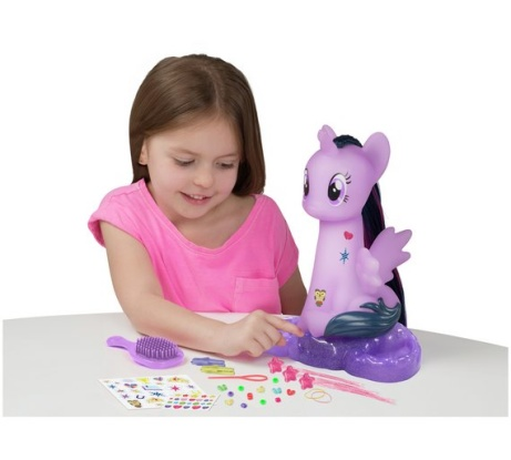 My Little Pony Twilight Sparkle Styling Head - LESS THAN 1/2 PRICE!