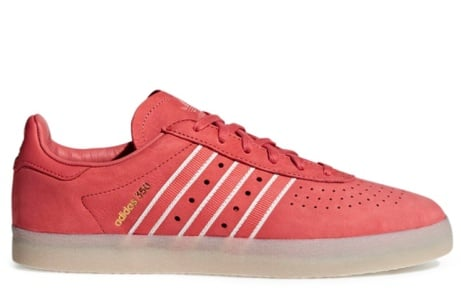 SAVE £50.00 - adidas 350 Oyster in Trace Scarlet/Chalk White/Gold Metallic!