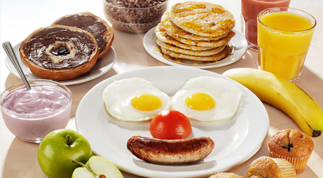KIDS EAT FREE Unlimited Breakfast - EVERY DAY until 10.30am!