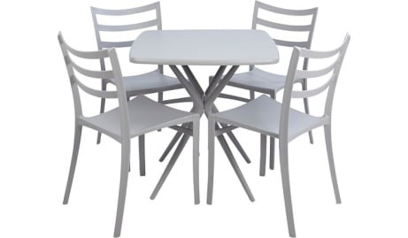 £30 OFF this 5 Piece Grey Dine Set!