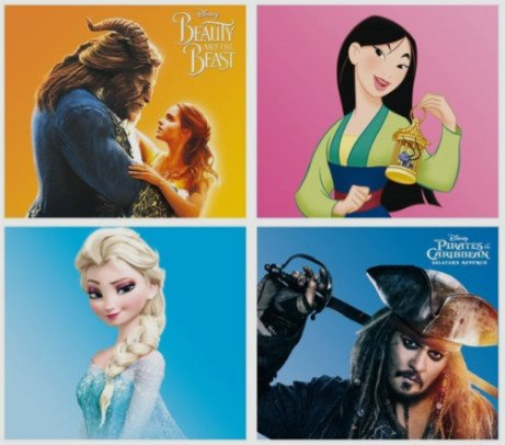 WOW! Disney 2 for £12 DVDs, 2 for £15 Blu-Ray