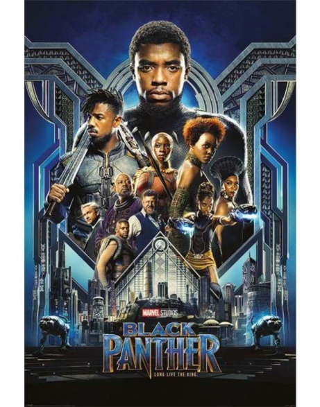 Black Panther posters NOW IN STOCK - ONLY £4.99!