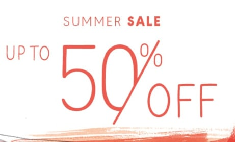 SUMMER SALE CLOTHING - UP TO 50% OFF