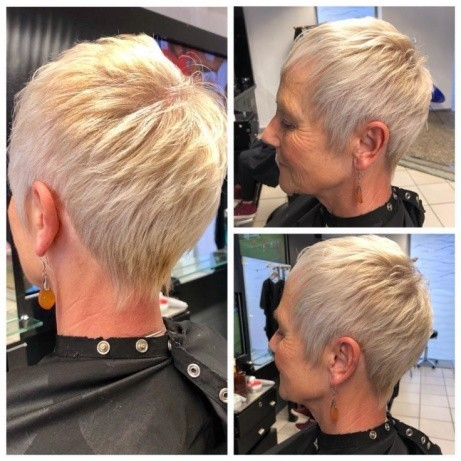 Check out this wonderful style done by our very own Aaron!