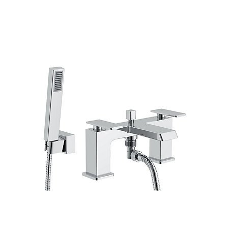 1/2 PRICE - COOKE & LEWIS Harlyn Chrome Bath Shower Mixer Tap!