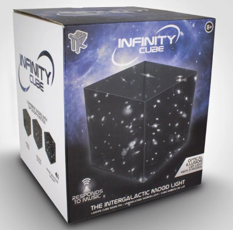 OVER 25% OFF the Infinity Cube!