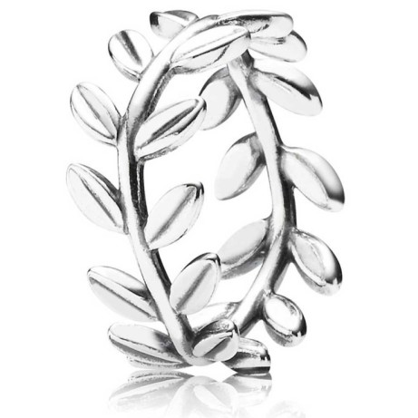 PANDORA Leaves Band Ring- Save £14
