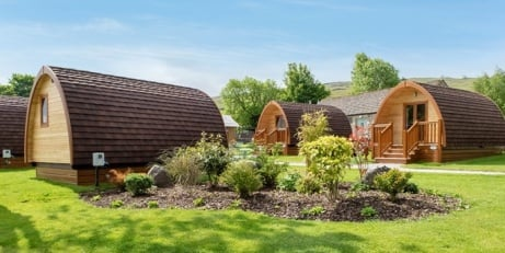 Yorkshire Dales: Glamping Break for up to 6 from ONLY £99!