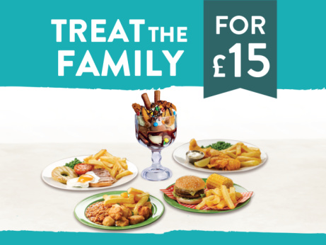 FEED the Family for ONLY £15!