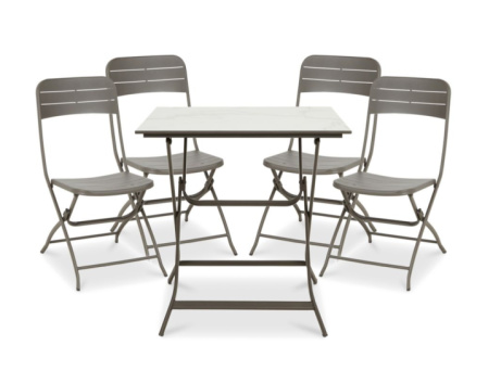 SAVE on this Azolla Metal 4 Seater Coffee Set!