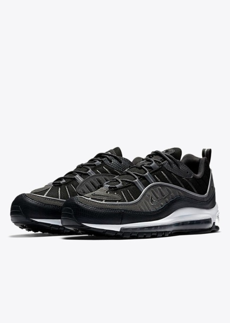 NEW RELEASE Air Max 98 SE in Black/Anthracite/Dark Grey/White!
