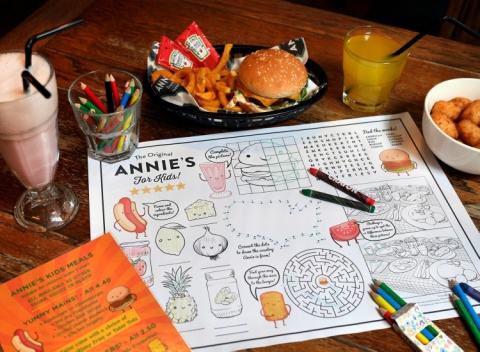 Bringing the little ones to see us at Annie's Burger Shack Nottingham for a Half Term treat?