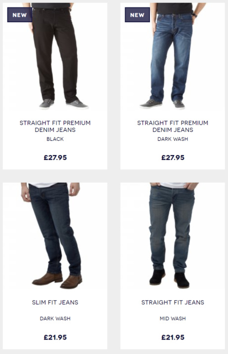 Jeans - 2 for £36