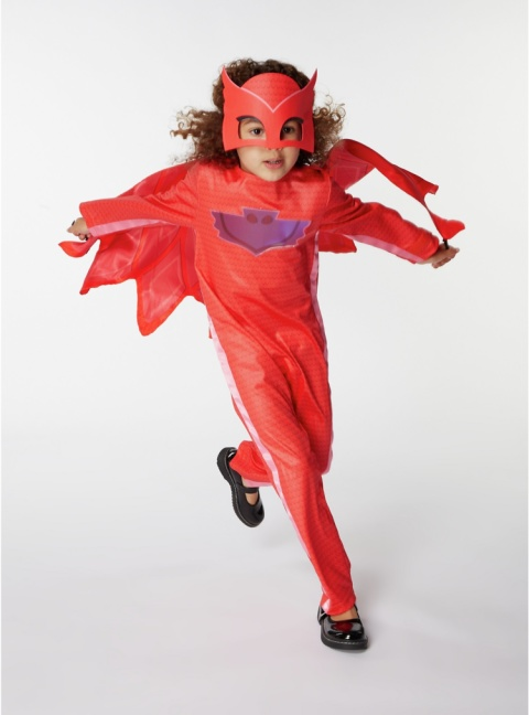 LAST MINUTE HALLOWEEN - PJ Masks Owlette Fancy Dress Costume £14.00!