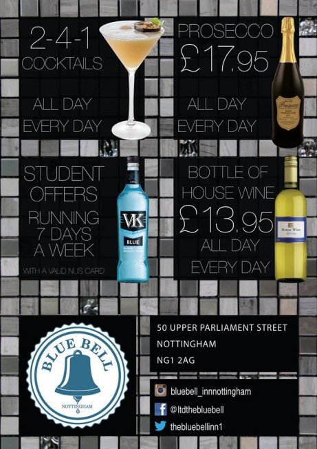 Enjoy a Bottle of Prosecco for JUST £17.95 - All day, Every day!