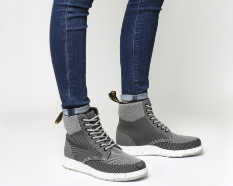 OVER 30% OFF - Dr. Martens Rigal Mid Grey Knit!
