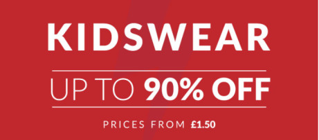 FLASH KIDS WEAR SALE! Save up to 90%