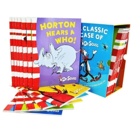 SAVE 50% on A Classic Case of Dr. Seuss Collection!