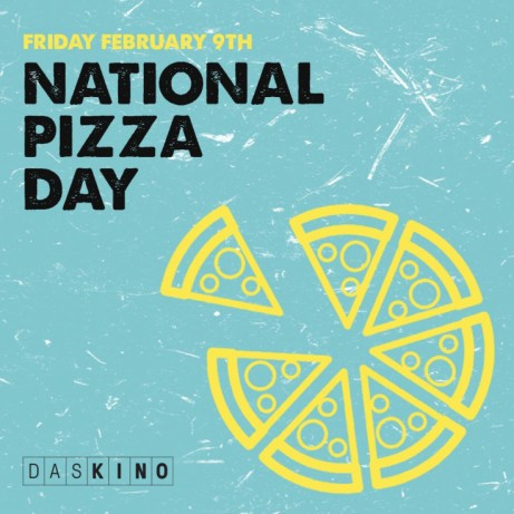 Today is National Pizza Day! We're celebrating in style with 2-4-1 PIZZA all day!