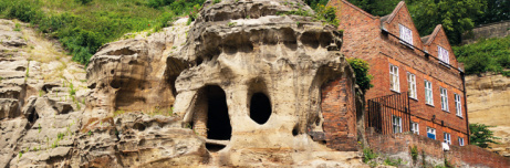 Visit the City Of Caves Family ticket £24.50 (max.2 adults)